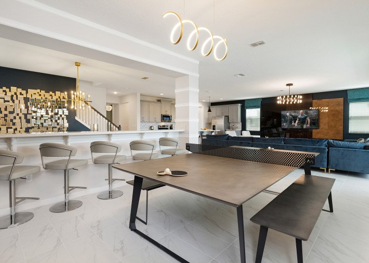 Chic & Modern Luxury w High Tech Arcade Rooms and Private Pool #23
