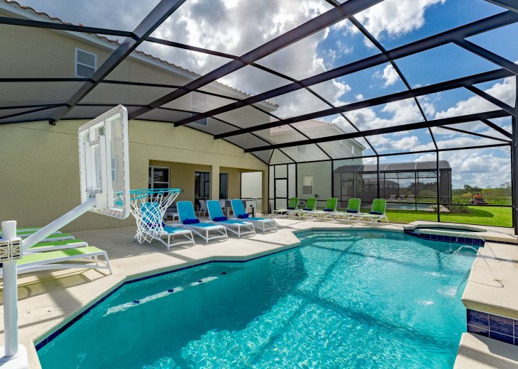 Spacious Luxurious Villa w Private Pool & Movie Theater Minutes from Disney #3