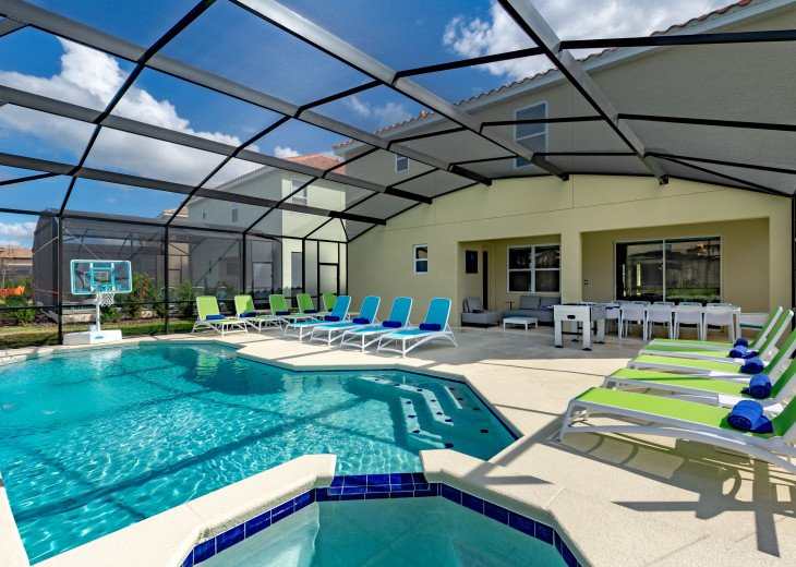 Spacious Luxurious Villa w Private Pool & Movie Theater Minutes from Disney #2