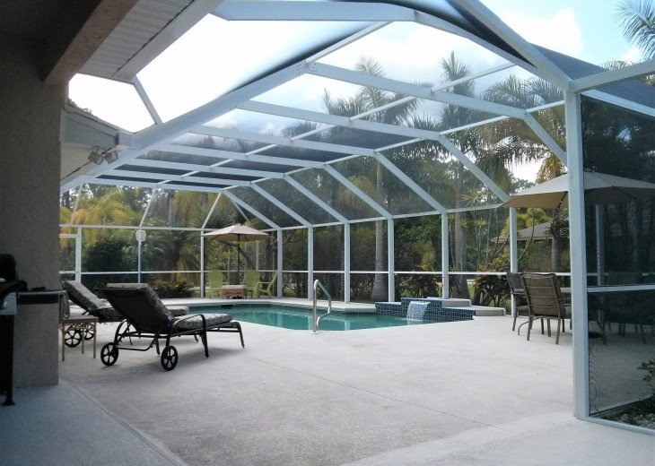 Enjoy the Florida sunshine! Large pool area to dine, entertain or just chill. #23