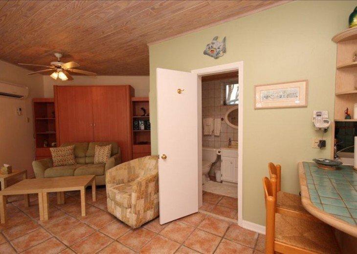 Bayside: 1st Floor Apartment in Native Hammock on Florida Bay #5