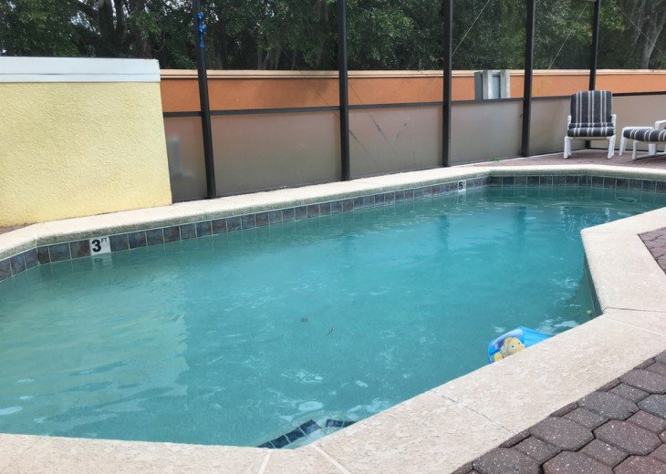 4 Bedroom House Rental In Kissimmee Fl Orlando Kissimmee Near Disney Florida 4 Bedroom Pool