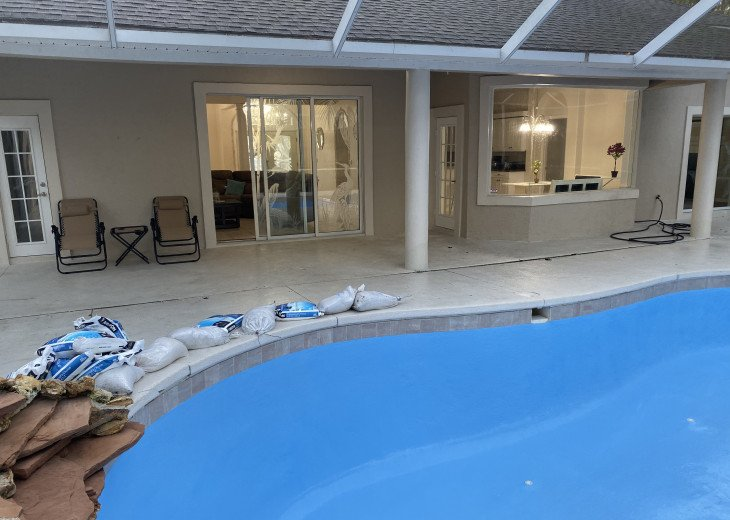 Entire house with salt water pool #24