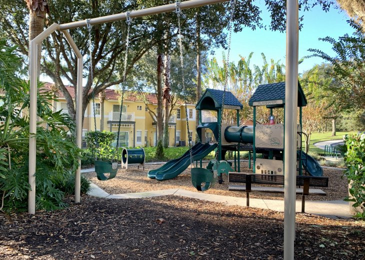 One of two kids playgrounds