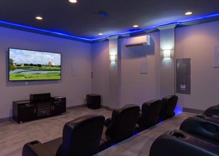 Fairway Comfort | 6 Bedroom 6.5 Bath Pool Villa with Movie Room! #7