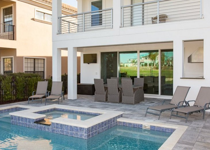 Fairway Comfort | 6 Bedroom 6.5 Bath Pool Villa with Movie Room! #33