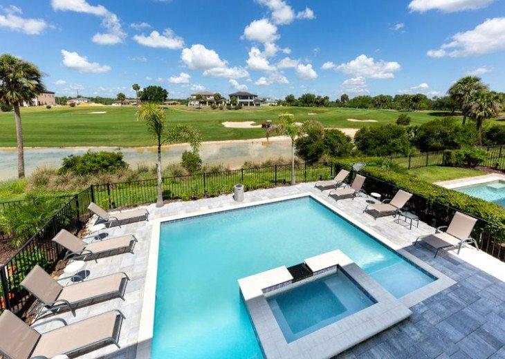 Fairway Comfort | 6 Bedroom 6.5 Bath Pool Villa with Movie Room! #1