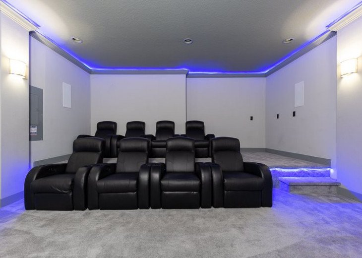 Fairway Comfort | 6 Bedroom 6.5 Bath Pool Villa with Movie Room! #15
