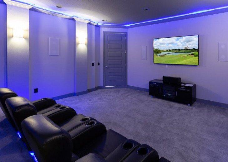 Fairway Comfort | 6 Bedroom 6.5 Bath Pool Villa with Movie Room! #8