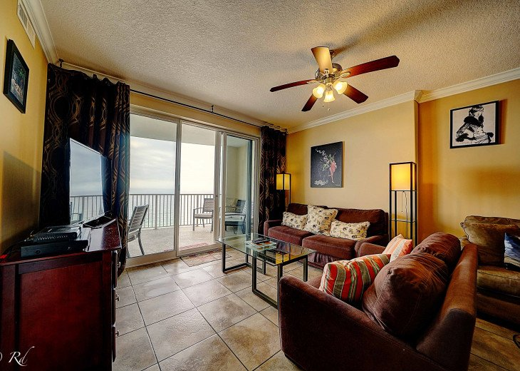 Ocean Front Ocen View Luxury 2 Bedroom 2 Bathroom Unit Near Pier Park #53