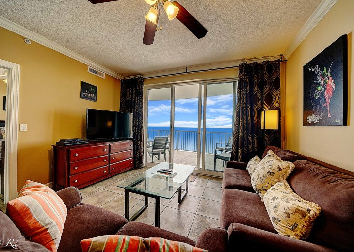 Ocean Front Ocen View Luxury 2 Bedroom 2 Bathroom Unit Near Pier Park #14