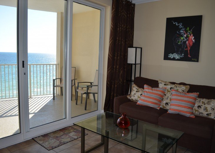 Ocean Front Ocen View Luxury 2 Bedroom 2 Bathroom Unit Near Pier Park #23