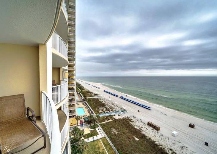 Ocean Front Ocen View Luxury 2 Bedroom 2 Bathroom Unit Near Pier Park #50