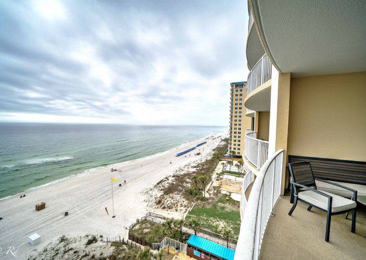 Ocean Front Ocen View Luxury 2 Bedroom 2 Bathroom Unit Near Pier Park #44