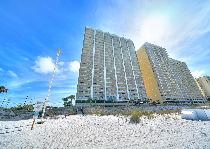 Ocean Front Ocen View Luxury 2 Bedroom 2 Bathroom Unit Near Pier Park #6