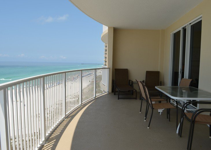 Ocean Front Ocen View Luxury 2 Bedroom 2 Bathroom Unit Near Pier Park #18