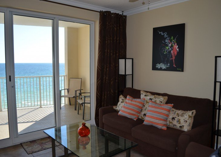 Ocean Front Ocen View Luxury 2 Bedroom 2 Bathroom Unit Near Pier Park #25