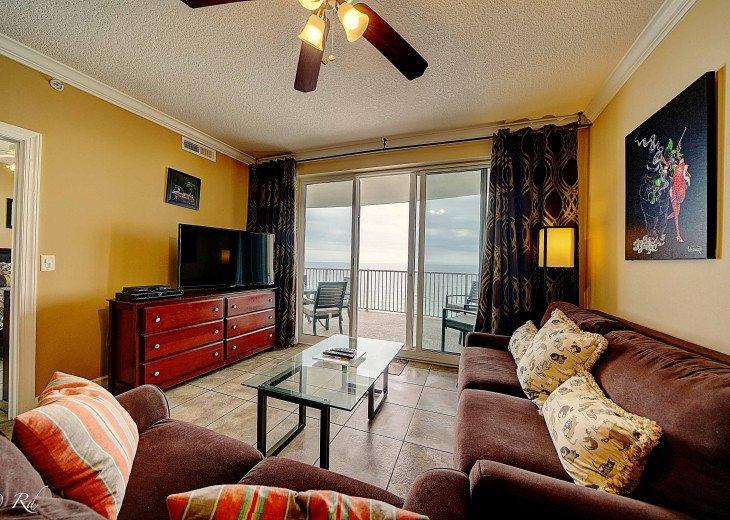 Ocean Front Ocen View Luxury 2 Bedroom 2 Bathroom Unit Near Pier Park #55