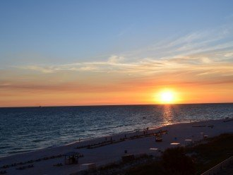enjoy beautiful sunset