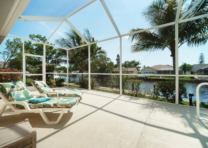 CapeCoralRentalHouses House 25 - Sunset Cove - Western Exposure, Sailboat Access #8