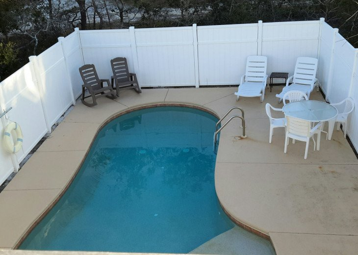 A Flip Flop, smaller adorable home, PRIVATE POOL, 200 steps to the beach. #2