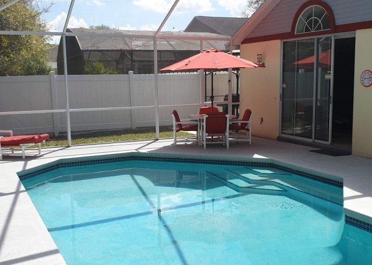 Holiday villa with pool and entertainment, 10 min to Disneyworld, Orlando, etc. #34