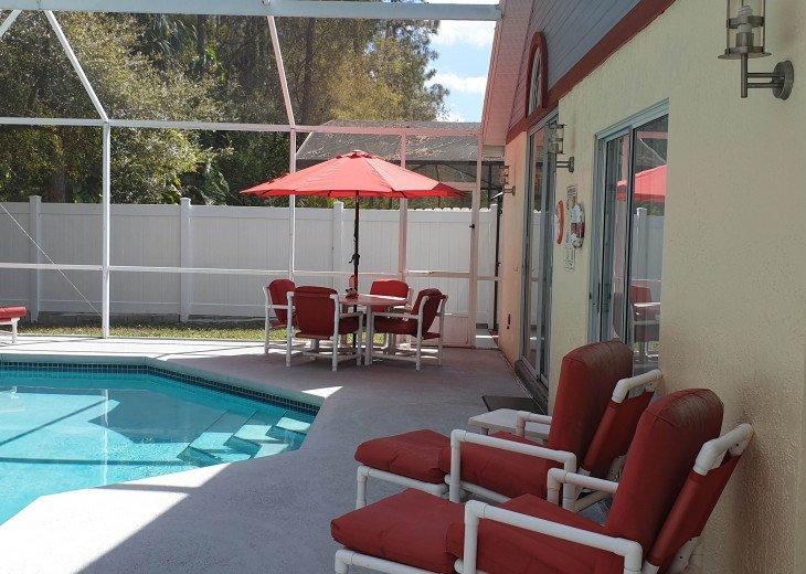 Holiday villa with pool and entertainment, 10 min to Disneyworld, Orlando, etc. #33