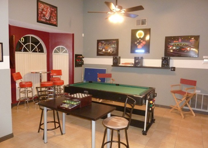 Holiday villa with pool and entertainment, 10 min to Disneyworld, Orlando, etc. #9