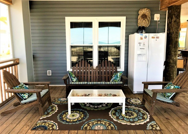 Gulf front w/ panoramic views!!HUGE screened porch & Outdoor kitchen!Beach gear! #26