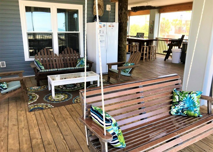 Gulf front w/ panoramic views!!HUGE screened porch & Outdoor kitchen!Beach gear! #27