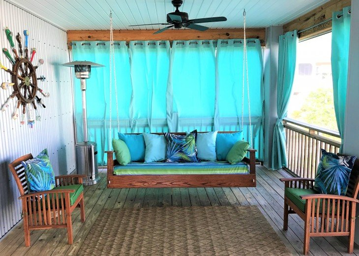 Gulf front w/ panoramic views!!HUGE screened porch & Outdoor kitchen!Beach gear! #20