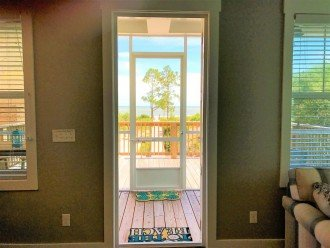 Gulf Front!Brand New 3 BR/2.5 BA!Private Boardwalk!Screen Porch! #1