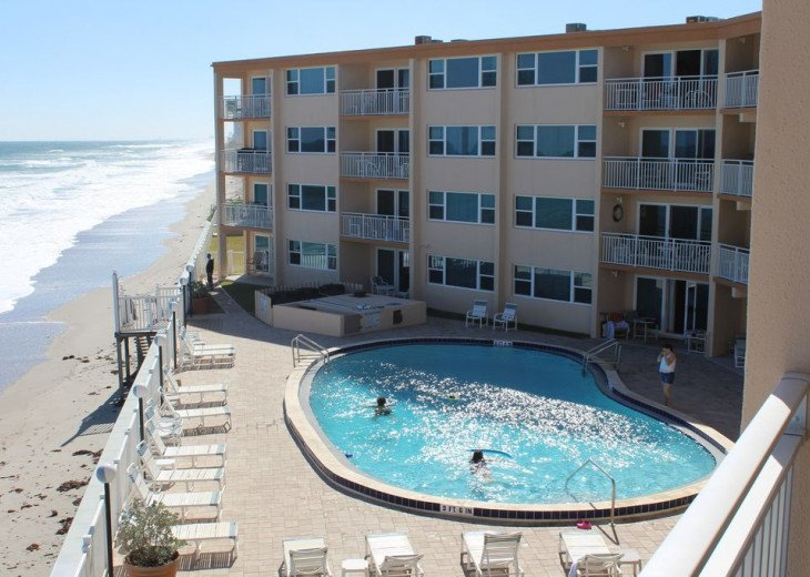 Oceanfront Beautiful Condo! Stunning View with heated pool on the Ocean! #22