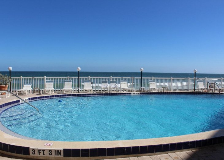 Oceanfront Beautiful Condo! Stunning View with heated pool on the Ocean! #21