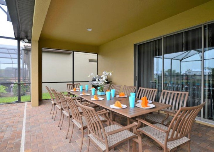 New Opening 8br/6ba pool villa from $259/nt ,Close to Disney #7