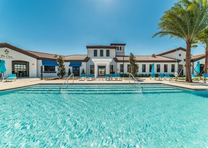 Clubhouse heated pool