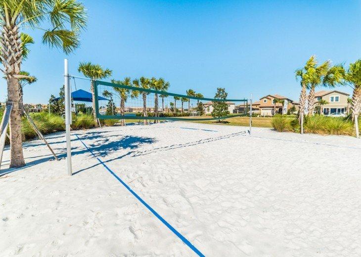 Club house beach volleyball