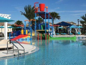 Clubhouse water park.