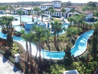 Resort-style heated Pool with Lazy River.