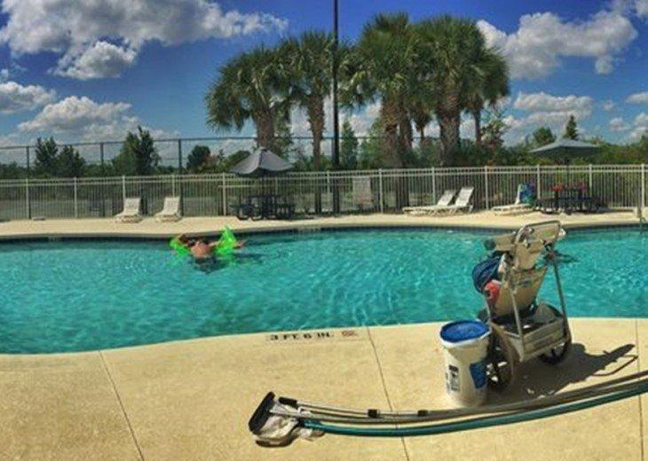 community heated pool