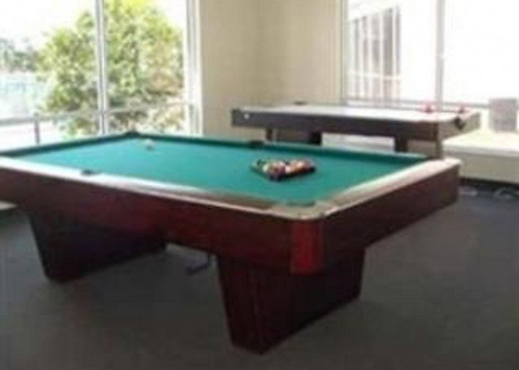 Game room in club house