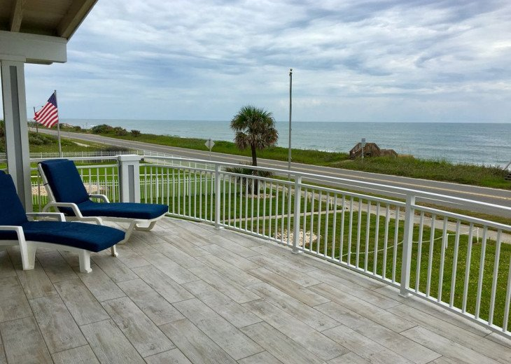 "BEAUTIFUL NEW 4/3 2 STORY DIRECT OCEAN ""Mo. Rtes Avl."" NEAR ST.AUGUSTINE/DAYTONA #16"