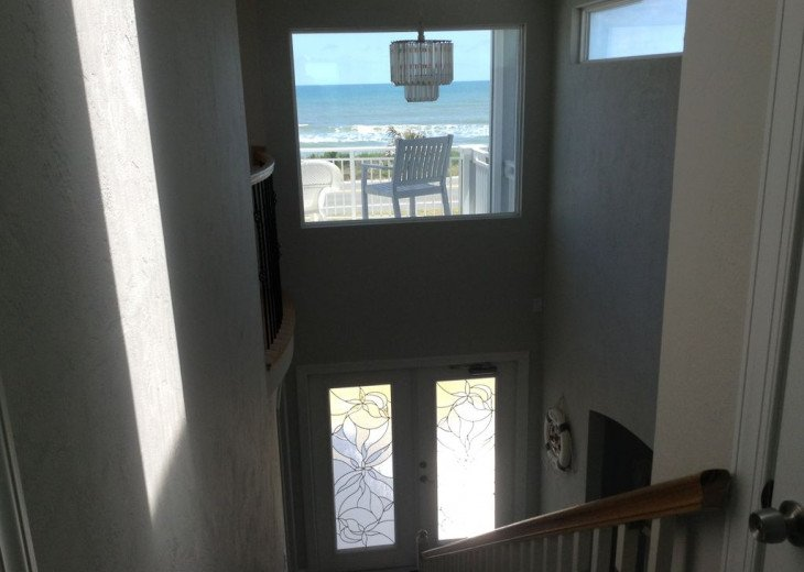 "BEAUTIFUL NEW 4/3 2 STORY DIRECT OCEAN ""Mo. Rtes Avl."" NEAR ST.AUGUSTINE/DAYTONA #6"