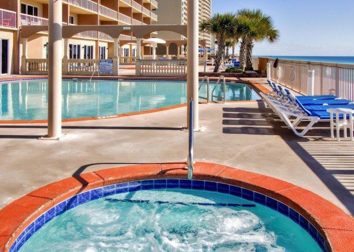 3BR Exotic Panama City Beach Condo w/Gulf Views & Balcony #21