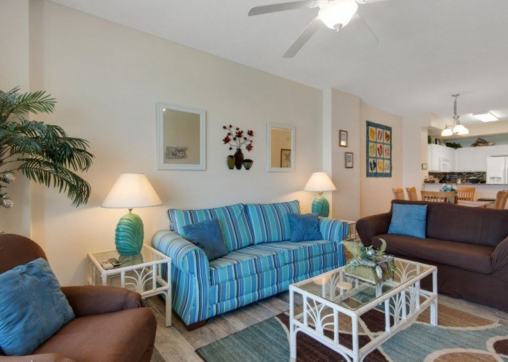 3BR Exotic Panama City Beach Condo w/Gulf Views & Balcony #4