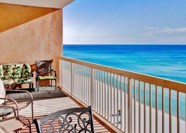 3BR Exotic Panama City Beach Condo w/Gulf Views & Balcony #1