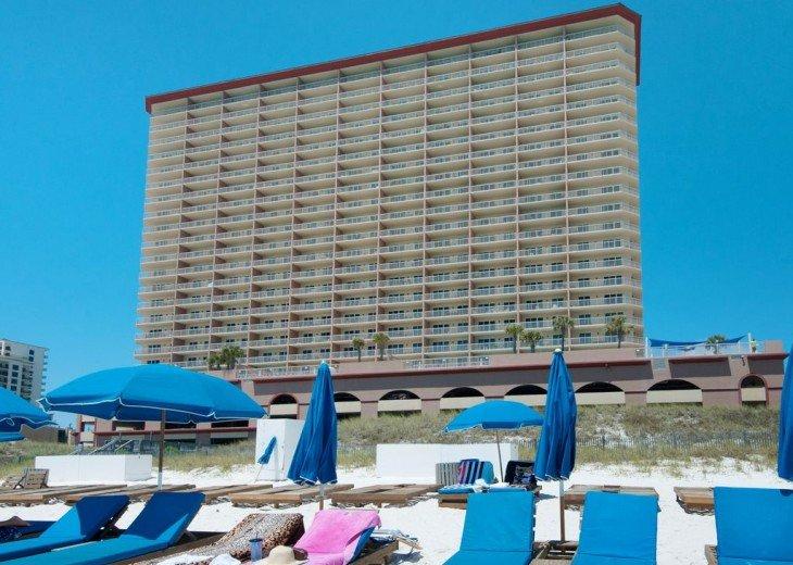 3BR Exotic Panama City Beach Condo w/Gulf Views & Balcony #19
