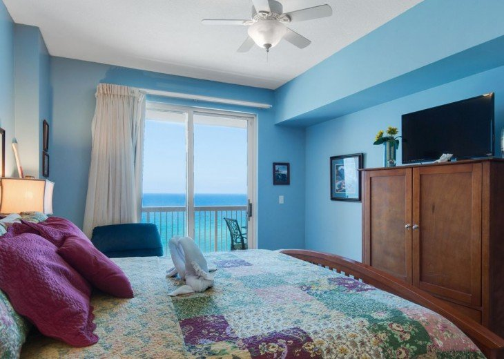 3BR Exotic Panama City Beach Condo w/Gulf Views & Balcony #12