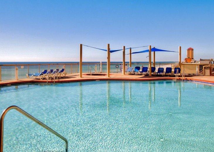 3BR Exotic Panama City Beach Condo w/Gulf Views & Balcony #20