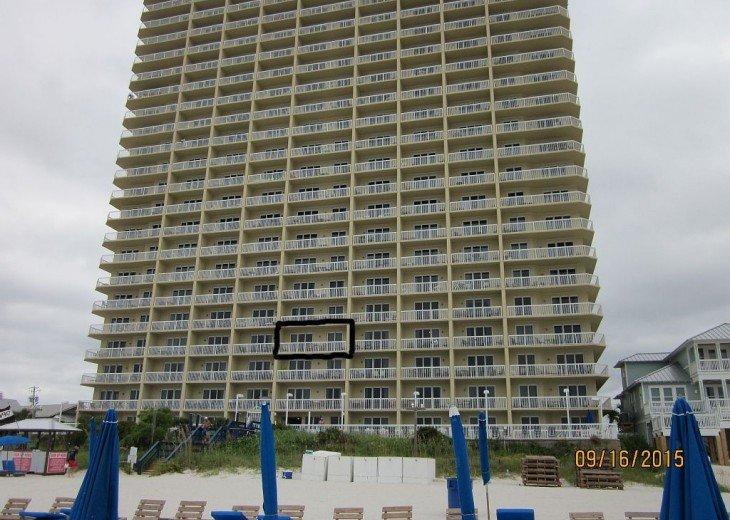 Seychelles 405 Vacation Rental, Panama City Beach, w/beach service & free Wi-Fi #15
